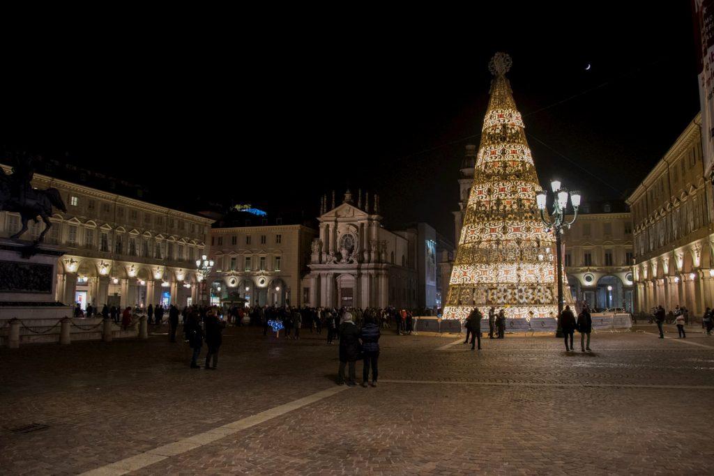 Piazza San Carlo Torino Natale