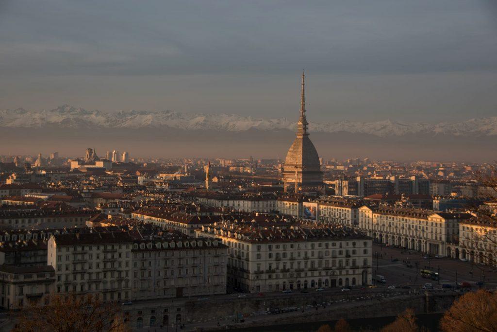 Vista panoramica Torino