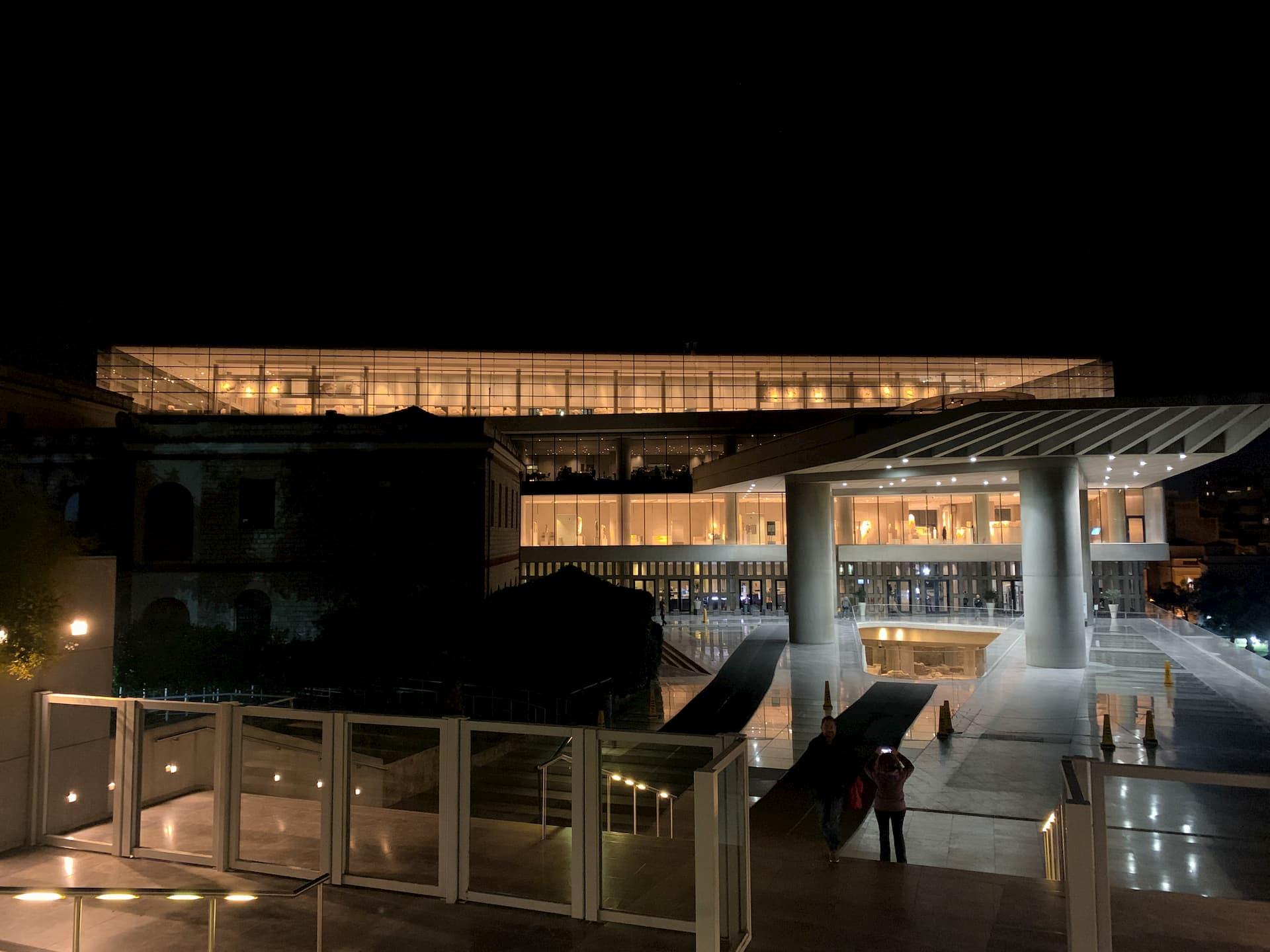 Museo archeologico night