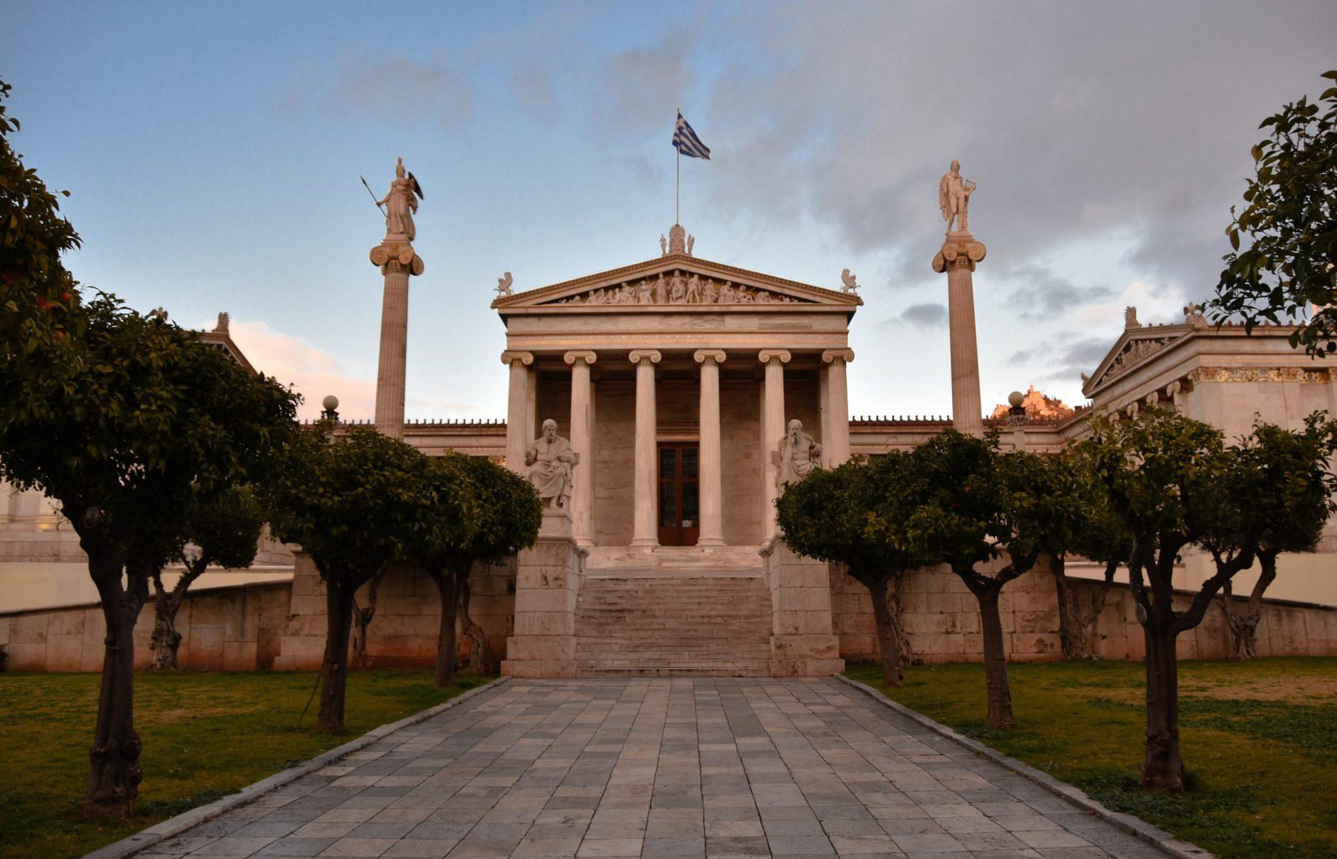 Palazzo accademia Atene