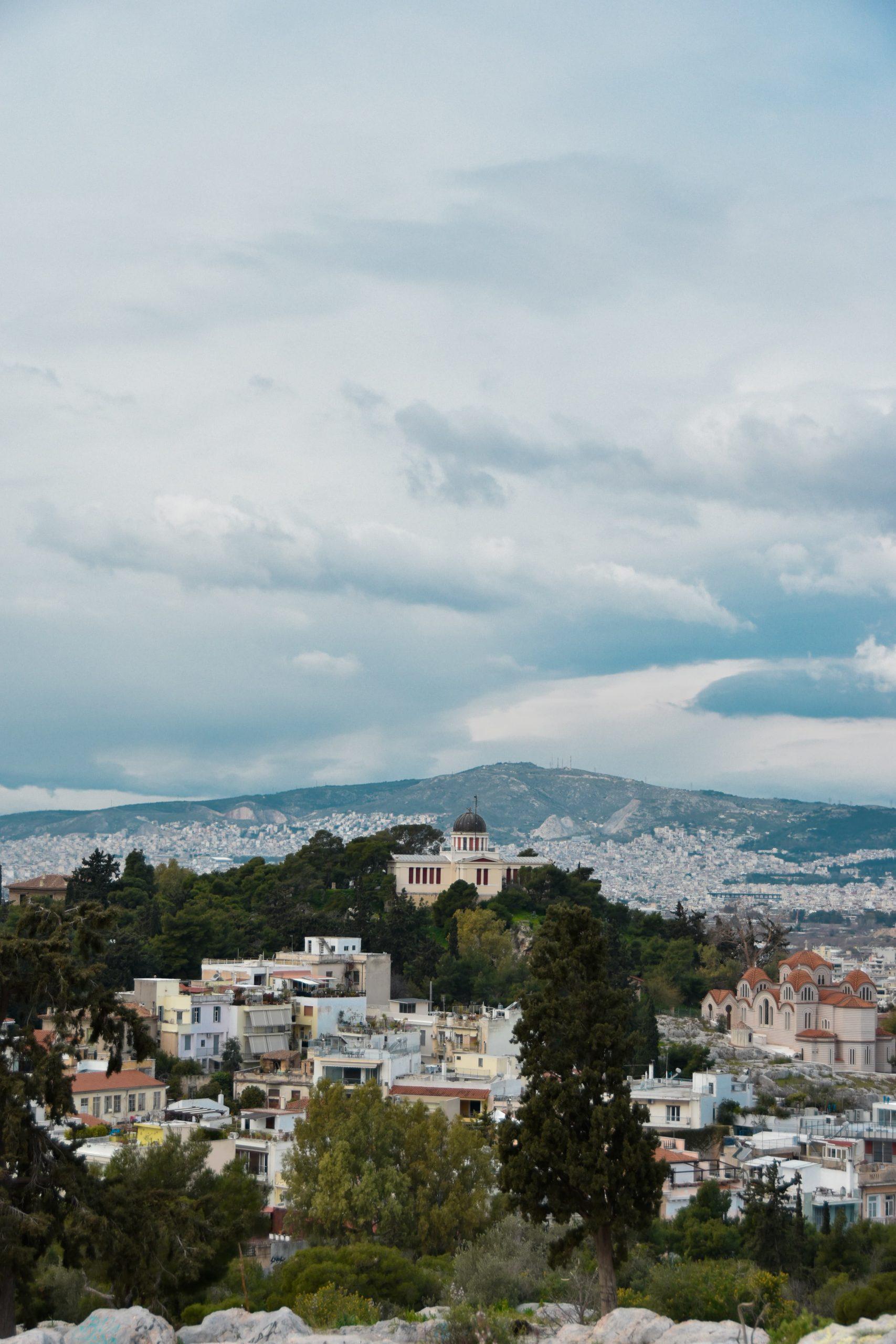vista collina Aeropago