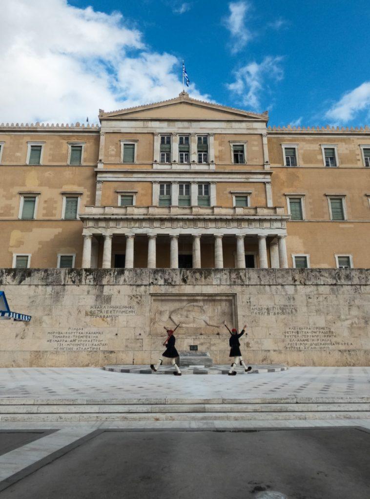 marcia parlamento Atene