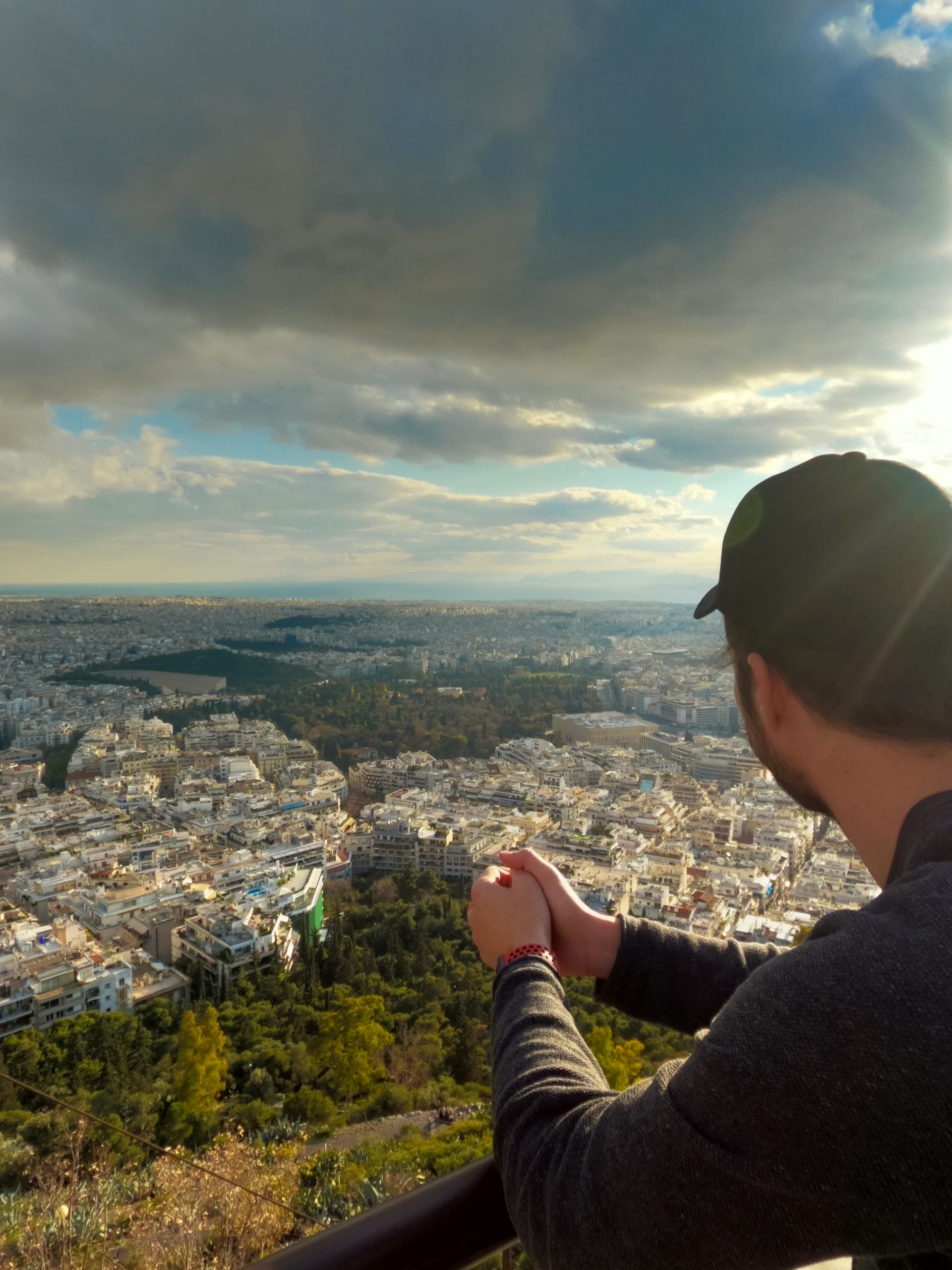 view from monte Lycabettus
