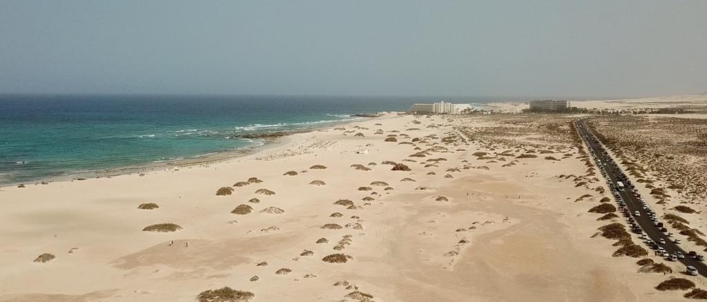 e Grandes playa de Corralejo.